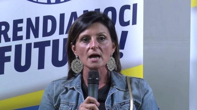 primo pianno del sottosegretario all'Ambiente, Vannia Gava