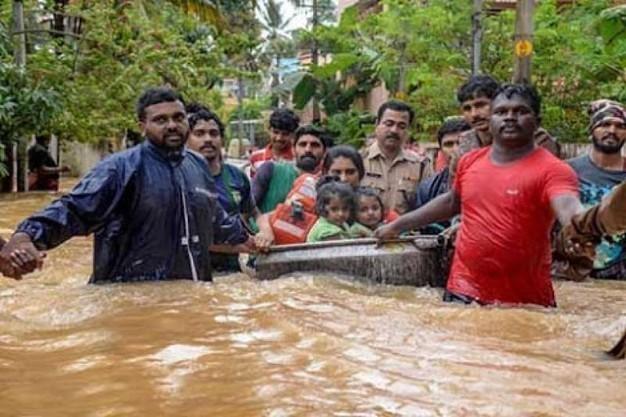 Alluvione In Kerala, India