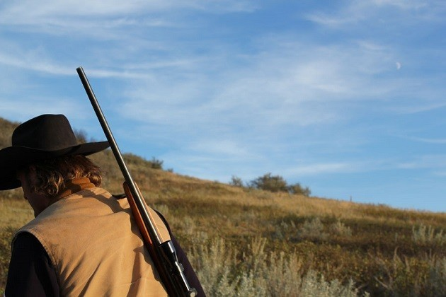 L'immagine di un cacciatore