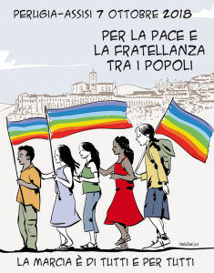 la locandine disegnata da Mauro Biani
