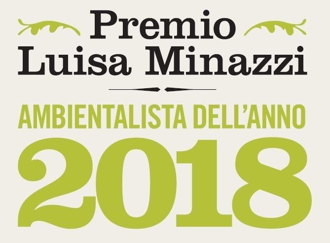 logo del premio Ambiemtalista dell'anno