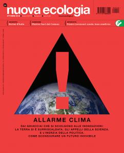 Nuova Ecologia copertina ottobre