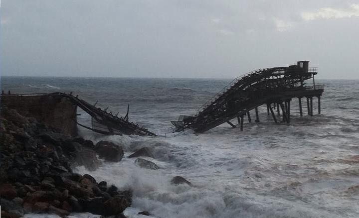 Ponte Rio Marina, Elba: il crollo