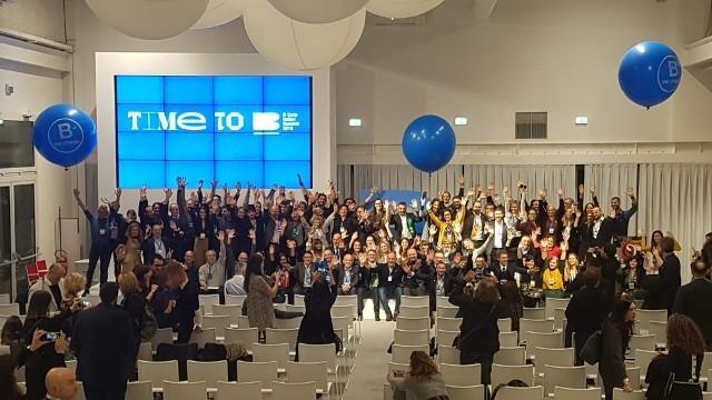 Una fotografia del summit di Bologna sulle Benefit Corporation Italiane