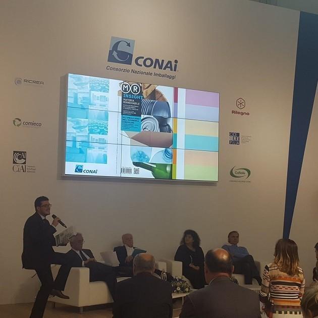 Un convegno del Consorzio CONAI a Ecomondo