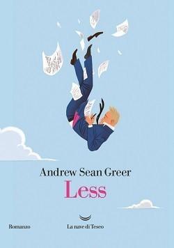"""la copertina del romanzo """"Less"""""""