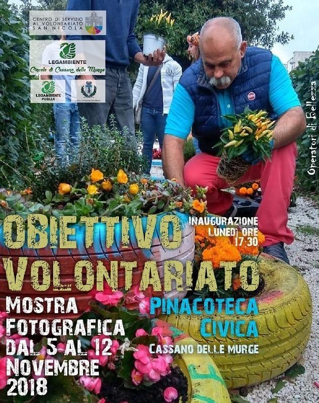 Locandina della mostra a Cassano Murge