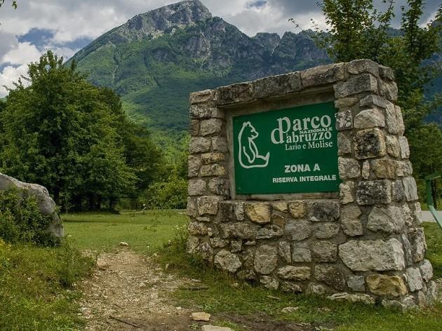 un'immagine del Parco nazionale d'Abruzzo