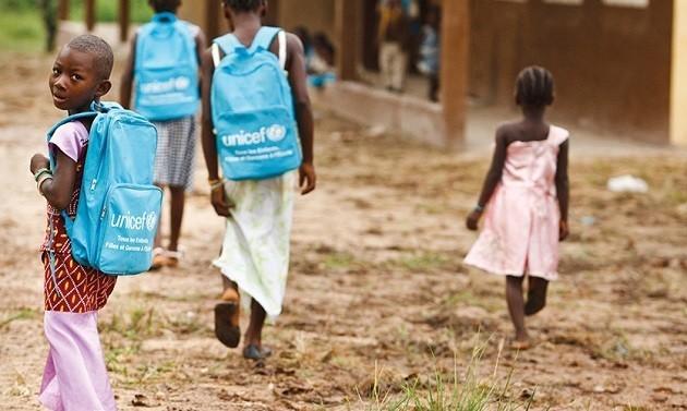 Programma di UNICEF per bambini africani