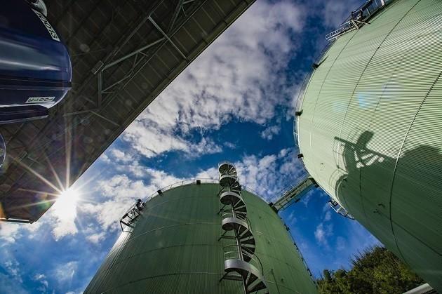Un impianto di biometano