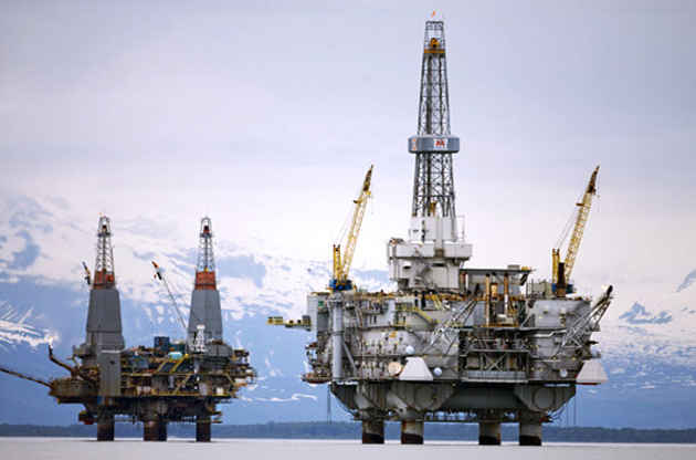 Piattaforme di Eni nell'Artico