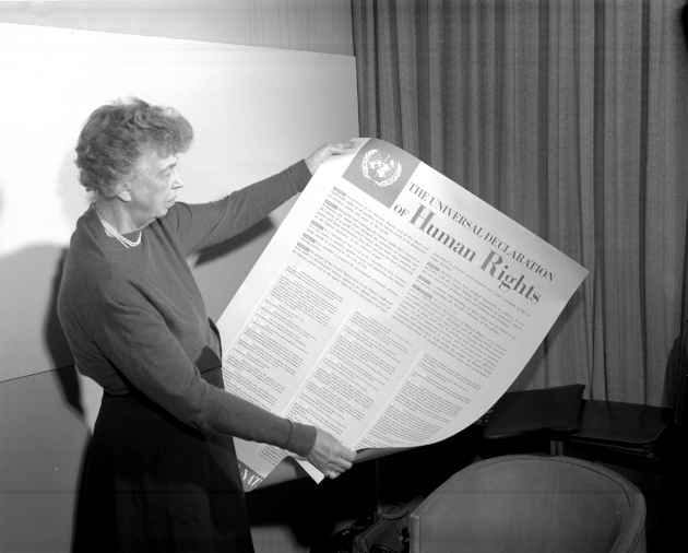 foto Eleanor Roosevelt