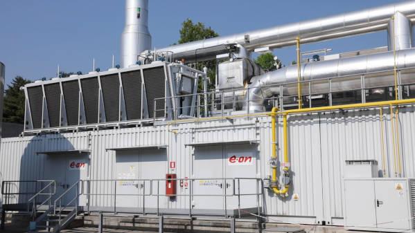 Goglio Eon, immagine di un impianto di depurazione di acque reflue