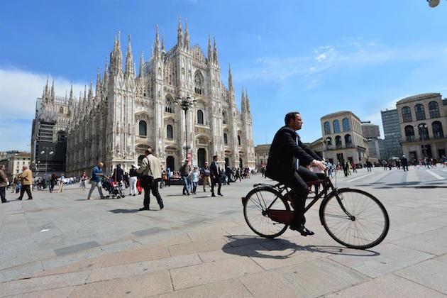 Milano, immagine del Duomo