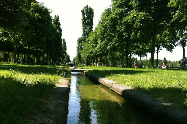 Un'immagine di Parco Nord Milano