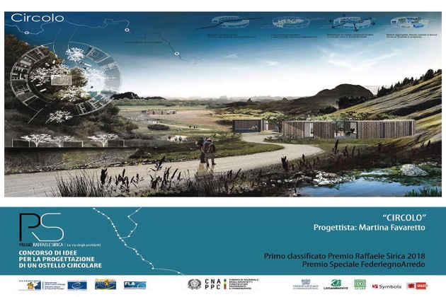 Un'immagine del progetto primo classificato del Premio Sirica