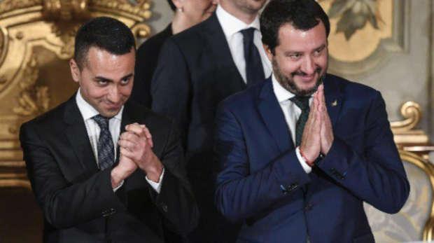 Di Maio e Salvini al Quirinale per il giuramento del nuovo governo