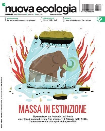 copertina Nuova Ecologia febbraio 2020