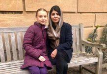 Malala e Greta Thunberg
