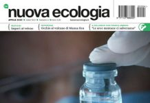 Copertina Nuova Ecologia aprile 2020