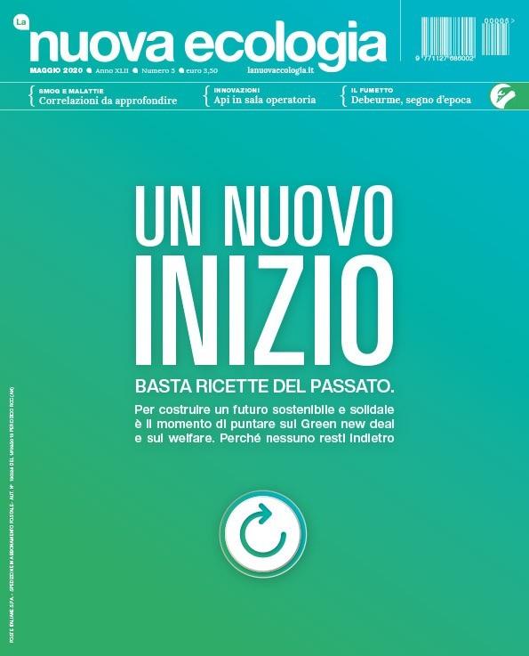 Copertina Nuova Ecologia maggio 2020