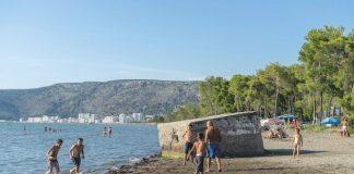 Balcani spiaggia