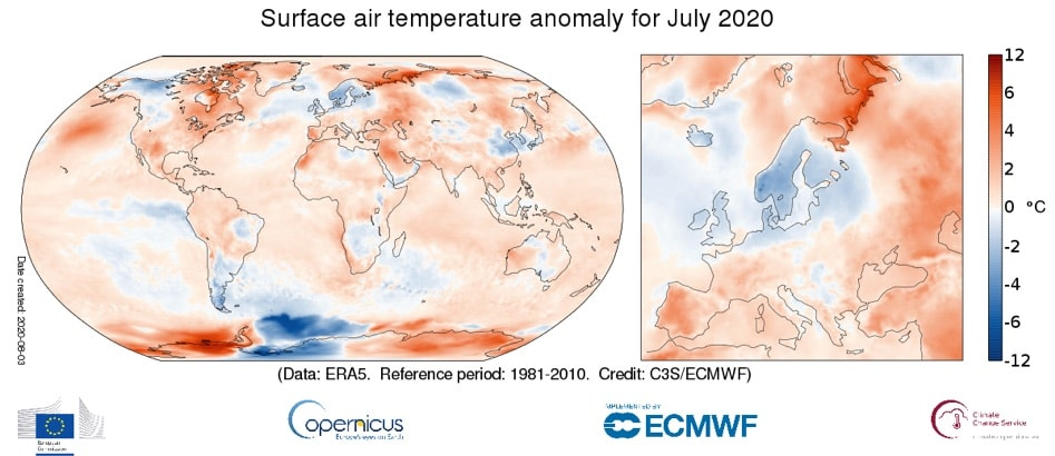 Clima luglio 2020