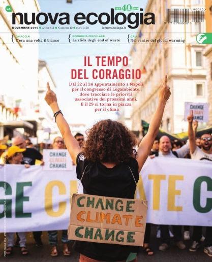 Copertina Nuova Ecologi novembre 2019