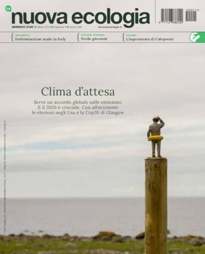 cover La Nuova Ecologia gennaio 2020