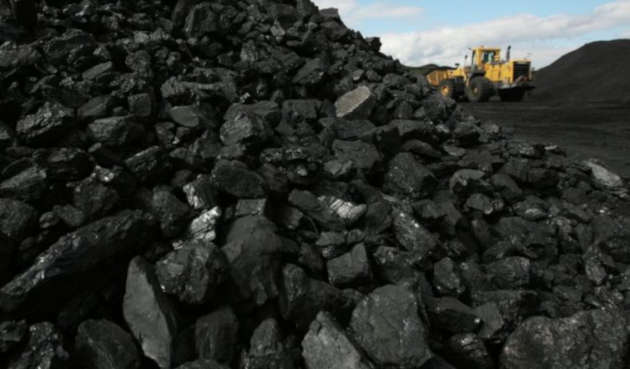 immagine di una miniera di carbone a cielo aperto