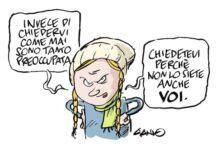 Greta, vignetta di Gianlorenzo Ingrami