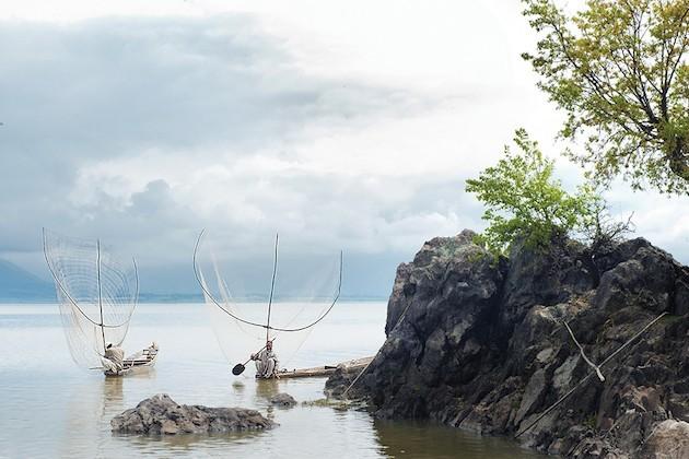 Pescatori Sul Lago Wular