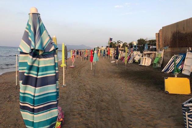 spiagge libere Lazio