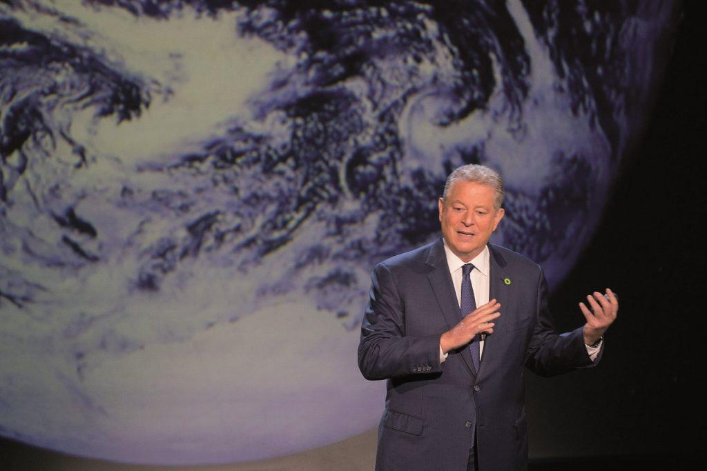 L'ex vicepresidente degli Usa, al Gore