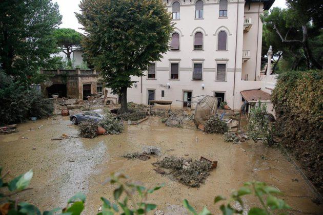 Livorno, gli effetti del dissesto idrogeologico