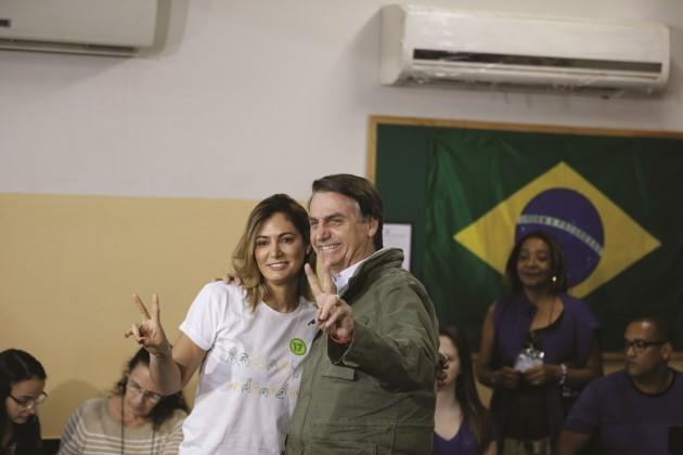 festeggiamenti Per La Vittoria Di Bolsonaro