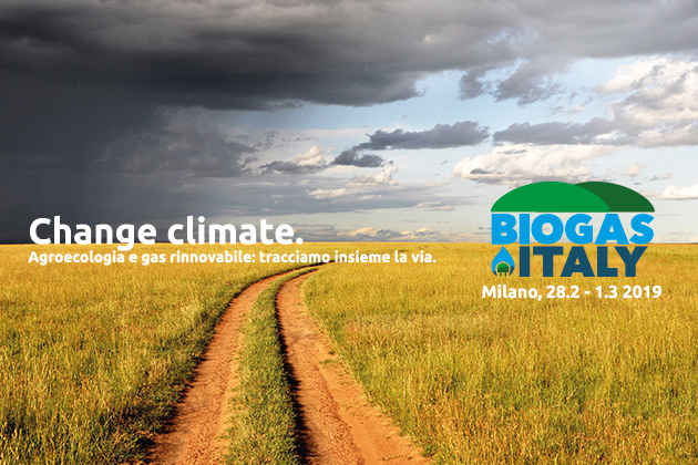 """La locandina dell'evento organizzato dal Cib """"Biogasitaly 2019"""""""