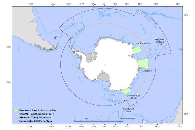 East Antarctic Marine Protected Area
