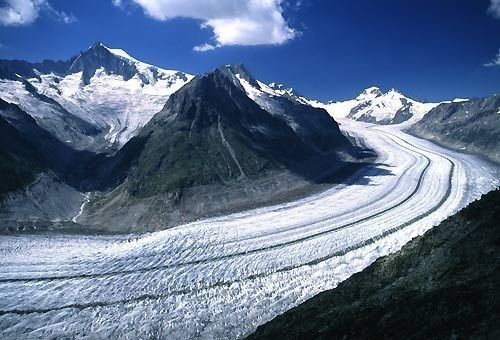 Ghiacciaio Alpi Tauri