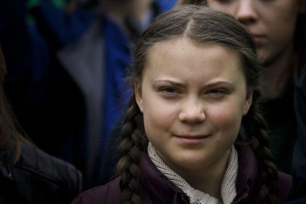 Una foto di Greta Thunberg