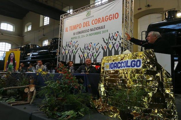 Don Ciotti Congresso Legambiente