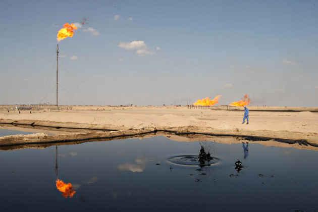 Un impianto petrolifero in Iraq