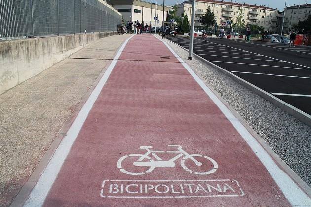 foto della Bicipolitana di Pesaro