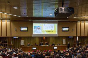 La conferenza stampa dell'enciclica