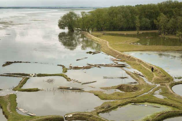 Immagine del Lago Wular