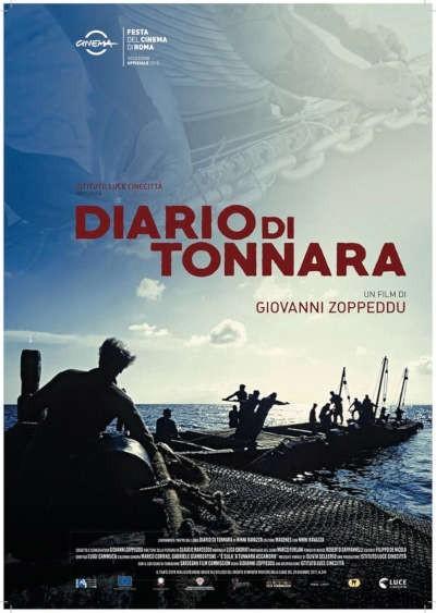 """La locandina di """"Diario di tonnara"""""""