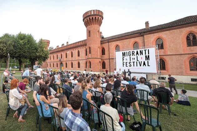 Un'immagine del Migranti Film Festival