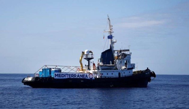 Mare Jonio nave Mediterranea
