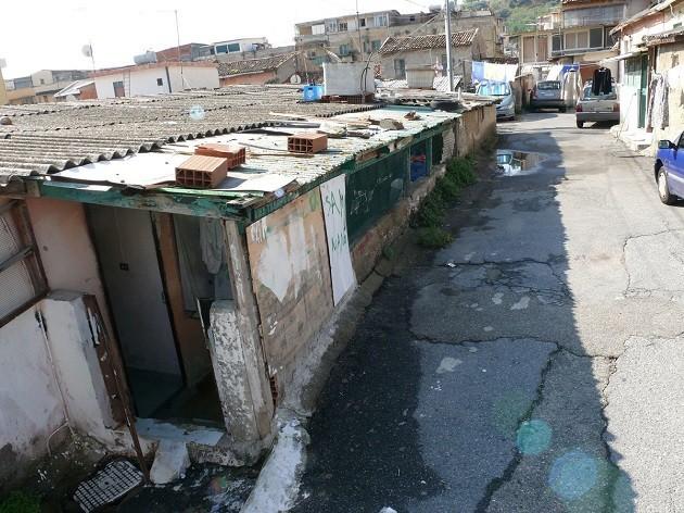 Messina baracche terremoto
