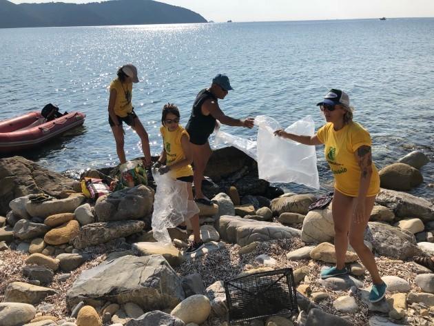 Stop plastica Isola D'elba